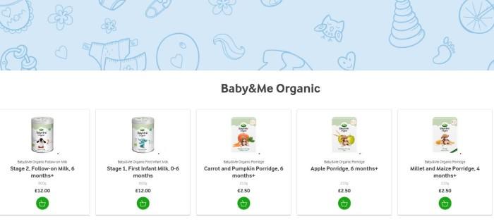 Arla Brings Organic Baby Brand To Uk Market Steps Up